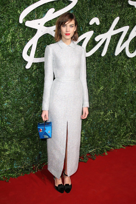Alexa Chung British Fashion Awards
